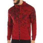 /achat-sweats-zippes-capuche/john-h-sweat-zippe-capuche-508-bordeaux-114858.html