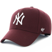 /achat-casquettes-de-baseball/47-brand-casquette-mvp-new-york-yankees-mlb-bordeaux-115018.html