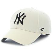 /achat-casquettes-de-baseball/47-brand-casquette-mvp-new-york-yankees-mlb-blanc-casse-115022.html