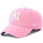 /achat-casquettes-de-baseball/47-brand-casquette-47-mvp-new-york-yankees-rose-115434.html