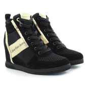 /achat-baskets-montantes/calvin-klein-baskets-compensees-femme-beth-black-gold-115720.html