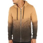 /achat-sweats-zippes-capuche/project-x-sweat-zippe-capuche-88172281-camel-noir-116039.html