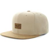 /achat-snapbacks/reell-jeans-casquette-snapback-suede-beige-marron-116469.html
