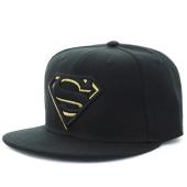 /achat-snapbacks/dc-comics-casquette-snapback-logo-superman-noir-dore-116901.html