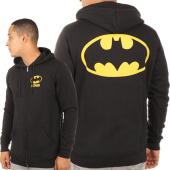 /achat-sweats-zippes-capuche/batman-sweat-zippe-capuche-logo-noir-116910.html