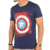 /achat-t-shirts/marvel-tee-shirt-captain-america-bleu-marine-118252.html