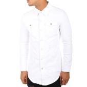 /achat-chemises-manches-longues/john-h-chemise-manches-longues-3317-blanc-118437.html