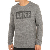 /achat-t-shirts-manches-longues/jarod-tee-shirt-manches-longues-ppff-gris-anthracite-chine-119456.html