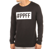 /achat-t-shirts-manches-longues/jarod-tee-shirt-manches-longues-ppff-noir-119460.html