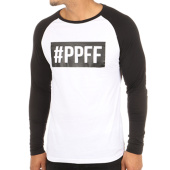 /achat-t-shirts-manches-longues/jarod-tee-shirt-manches-longues-raglan-ppff-blanc-noir-119461.html