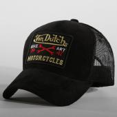 /achat-trucker/von-dutch-casquette-trucker-velours-marko-noir-119476.html