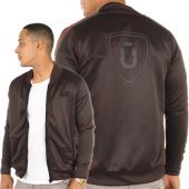 /achat-vestes/unkut-veste-zippee-avec-bandes-roma-noir-119646.html