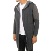 /achat-cardigans-gilets/vip-clothing-gilet-capuche-oversize-classic-gris-anthracite-120336.html