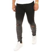 /achat-jeans/zayne-paris-jean-slim-troue-za027-noir-120547.html