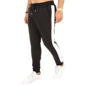 /achat-pantalons-joggings/frilivin-pantalon-jogging-bandes-6667-noir-blanc-120766.html