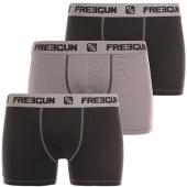 /achat-boxers/freegun-lot-de-3-boxers-bi-stretch-noir-gris-anthracite-121359.html