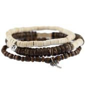 /achat-bracelets/icon-brand-lot-de-4-bracelets-pohnpei-marron-beige-121859.html
