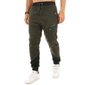 /achat-pantalons-joggings/mz72-pantalon-jogging-jays-vert-kaki-noir-122033.html