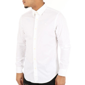 /achat-chemises-manches-longues/g-star-chemise-manches-longues-core-d03691-7085-blanc-122474.html
