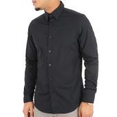 /achat-chemises-manches-longues/g-star-chemise-manches-longues-core-d03691-7085-noir-122505.html