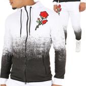 /achat-ensembles-survetement/john-h-ensemble-de-survetement-535-536-blanc-noir-floral-122522.html