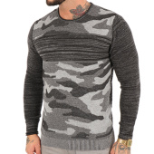 /achat-pulls/john-h-pull-3179-gris-anthracite-noir-camouflage-123043.html