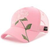 /achat-trucker/hechbone-casquette-trucker-avec-broderies-florales-rose-rose-123557.html