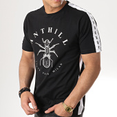 /achat-t-shirts/anthill-tee-shirt-bandes-brodees-tape-noir-blanc-123873.html