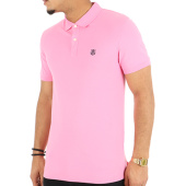 /achat-polos-manches-courtes/selected-polo-manches-courtes-haro-embroidery-rose-clair-123925.html