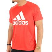/achat-t-shirts/adidas-tee-shirt-de-sport-d2m-logo-ce0313-rouge-123986.html