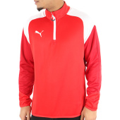 /achat-sweats-col-zippe/puma-sweat-de-sport-esito-4-655220-01-rouge-124230.html