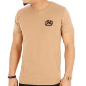 Seine Zoo - Tee Shirt Seine Zoo Logo Coeur Camel