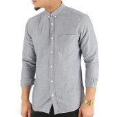 /achat-chemises-manches-longues/only-and-sons-chemise-manches-longues-alvaro-oxford-noos-gris-124303.html