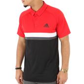 /achat-polos-manches-courtes/adidas-polo-manches-courtes-club-cb-ce1421-noir-rouge-124396.html