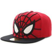 /achat-snapbacks/marvel-casquette-snapback-spiderman-sb241107spn-rouge-noir-124394.html