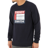 /achat-sweats-col-rond-crewneck/teddy-smith-sweat-crewneck-sacot-bleu-marine-124365.html