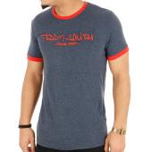 /achat-t-shirts/teddy-smith-tee-shirt-ticlass-3-bleu-marine-chine-rouge-124836.html
