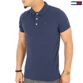 /achat-polos-manches-courtes/tommy-hilfiger-jeans-polo-manches-courtes-original-4266-bleu-marine-125130.html