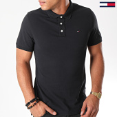 /achat-polos-manches-courtes/tommy-hilfiger-polo-manches-courtes-original-4266-noir-125131.html