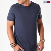 /achat-t-shirts/tommy-hilfiger-jeans-tee-shirt-original-bleu-marine-125153.html