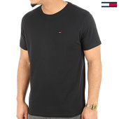 /achat-t-shirts/tommy-hilfiger-jeans-tee-shirt-original-4411-noir-125158.html