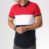 /achat-polos-manches-courtes/lbo-polo-manches-courtes-tricolore-375-bleu-marine-blanc-rouge-125495.html