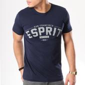 /achat-t-shirts/esprit-tee-shirt-998ee2k802-bleu-marine-125711.html