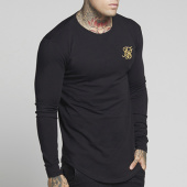 /achat-t-shirts-manches-longues/siksilk-tee-shirt-manches-longues-oversize-gym-13082-noir-dore-125777.html
