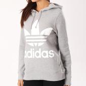 /achat-sweats-capuche/adidas-sweat-capuche-femme-trefoil-cy6665-gris-chine-126000.html