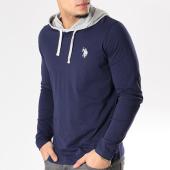 /achat-t-shirts-manches-longues/us-polo-assn-tee-shirt-manches-longues-capuche-logo-fleece-bleu-marine-gris-chine-126569.html
