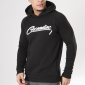 /achat-sweats-capuche/ah2-sweat-capuche-logo-grenadine-noir-blanc-127213.html