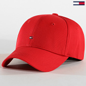 /achat-casquettes-de-baseball/tommy-hilfiger-jeans-casquette-classic-bb-aw0aw05080-rouge-127345.html
