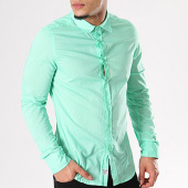 /achat-chemises-manches-longues/crossby-chemise-manches-longues-willy-vert-127587.html