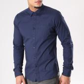 /achat-chemises-manches-longues/crossby-chemise-manches-longues-josh-bleu-marine-127589.html